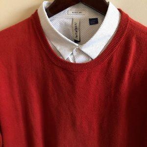 J Crew Paprika Crew Neck Sweater - Medium